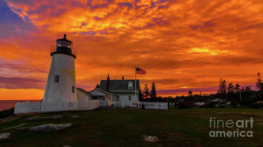 Pemaquid Point Light by New England Photography