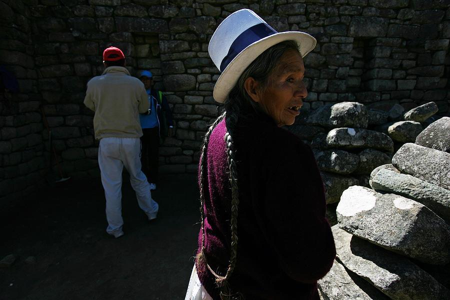 Peru Trekking Photograph by Brent Stirton