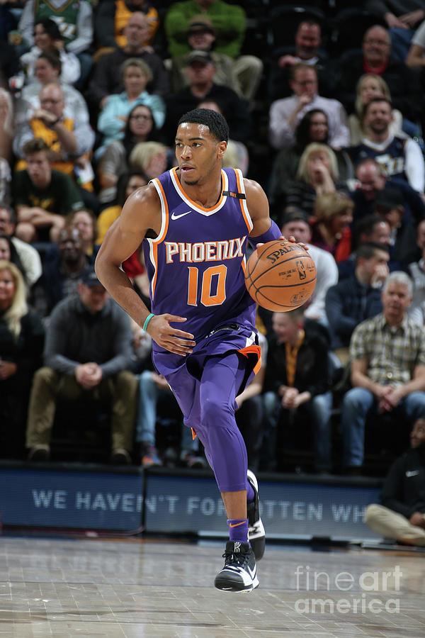 Phoenix Suns V Utah Jazz Photograph by Melissa Majchrzak