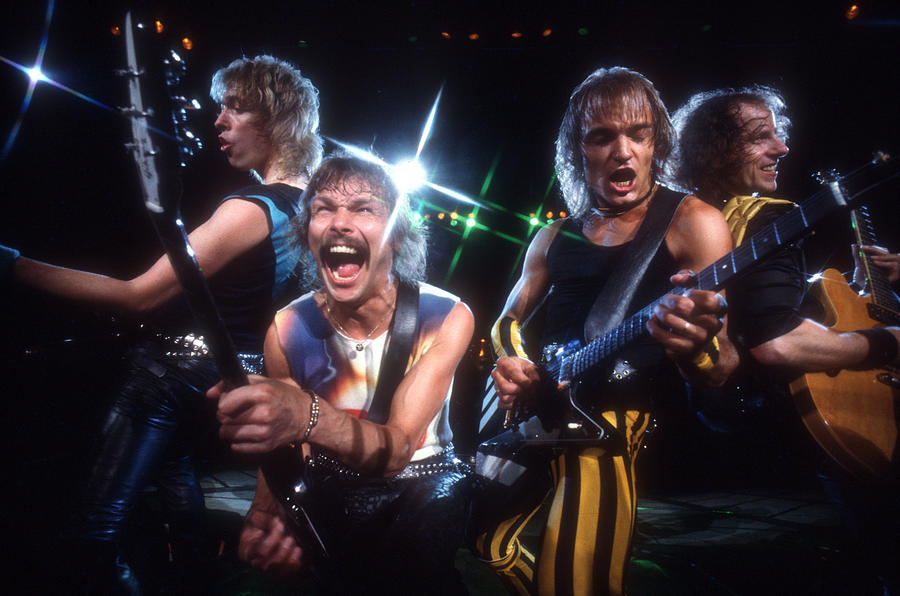 Photo Of Scorpions Photograph by Michael Ochs Archives