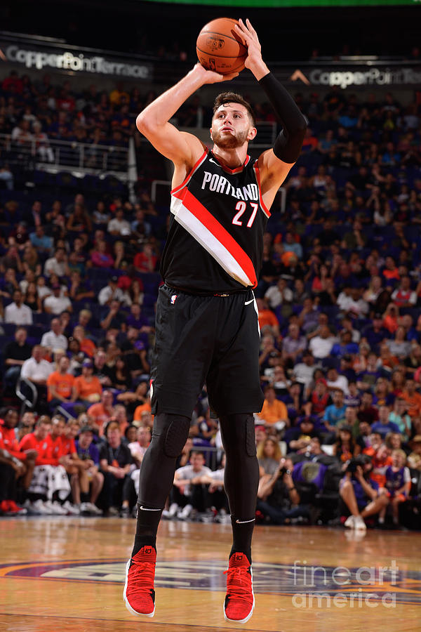 Portland Trail Blazers V Phoenix Suns Photograph by Barry Gossage