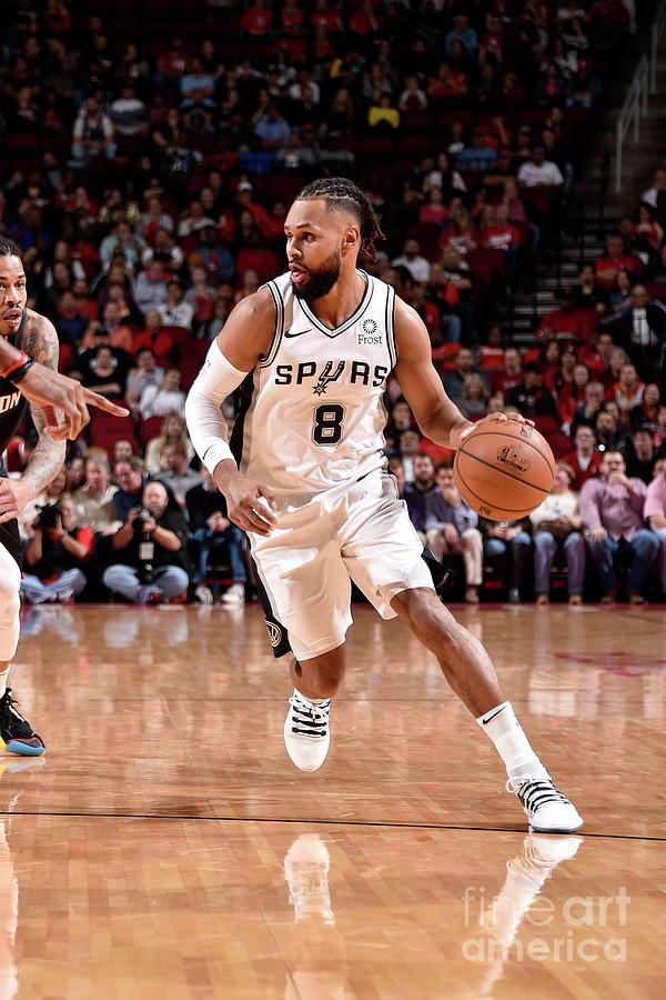 San Antonio Spurs V Houston Rockets Photograph by Bill Baptist