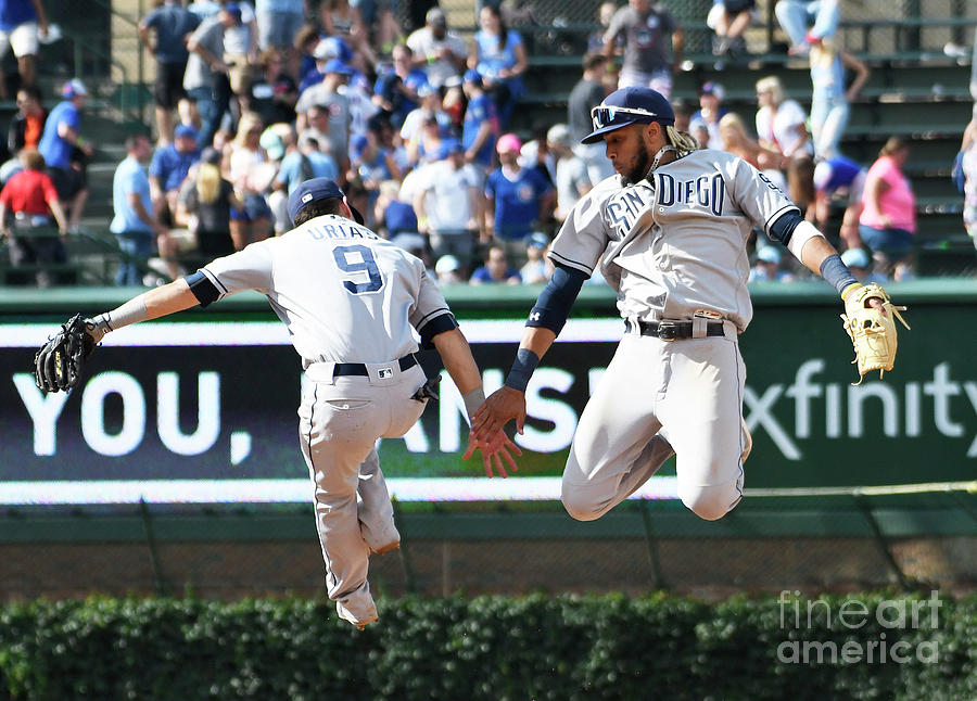 San Diego Padres V Chicago Cubs Photograph by David Banks