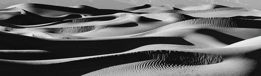 Horizontal Photograph - Sand Dunes In A Desert, Mesquite Flat by Panoramic Images