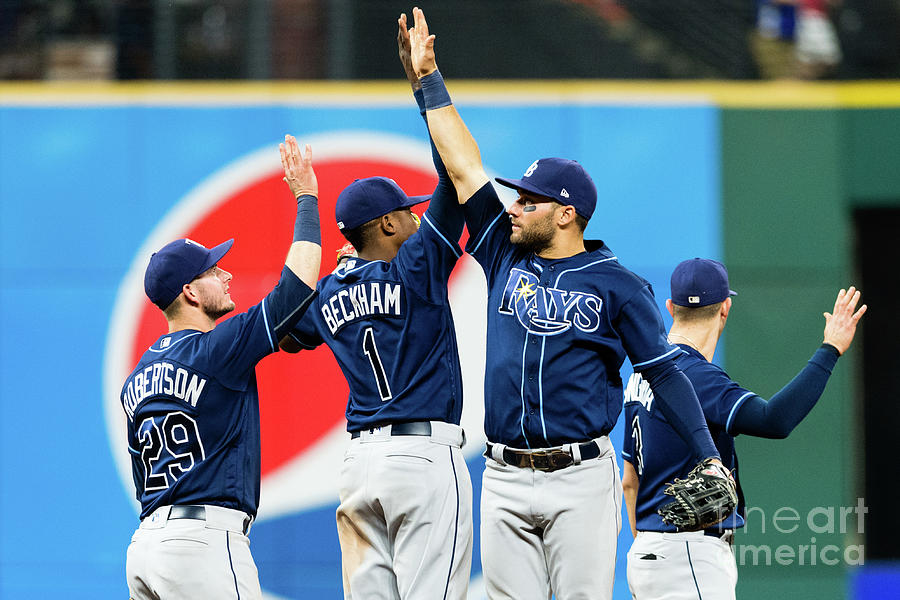 Tampa Bay Rays V Cleveland Indians Photograph by Jason Miller