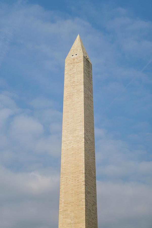 Flag Photograph - Usa, Washington D by Walter Bibikow
