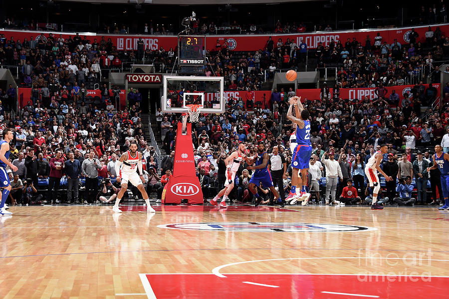 Washington Wizards V La Clippers Photograph by Andrew D. Bernstein