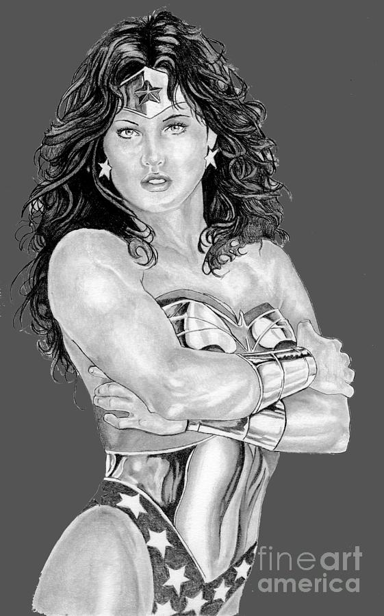 Wonder Woman by Bill Richards