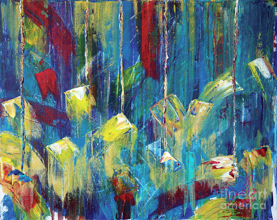 Abstract Painting - 72 by JoAnn DePolo