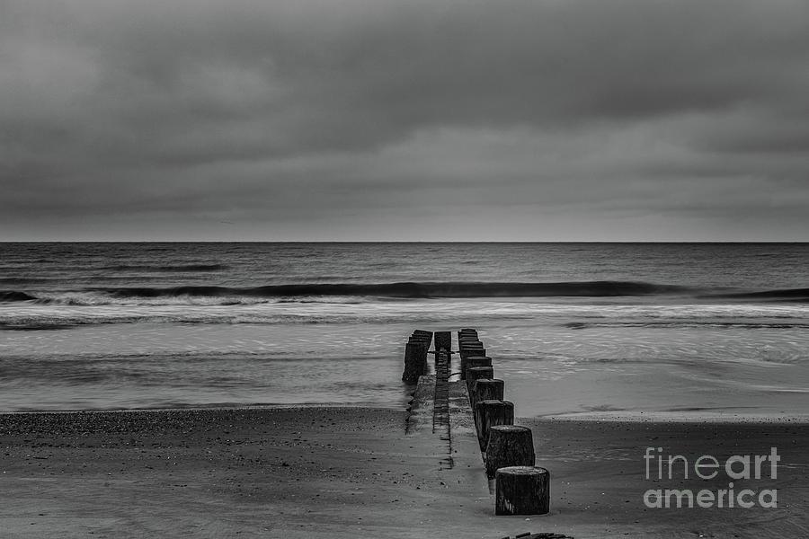 Sand And Seas On Folly Beach Photograph