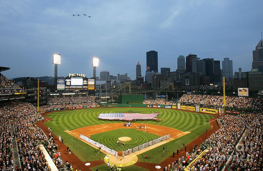 77th Mlb All-star Game Photograph by Jamie Squire