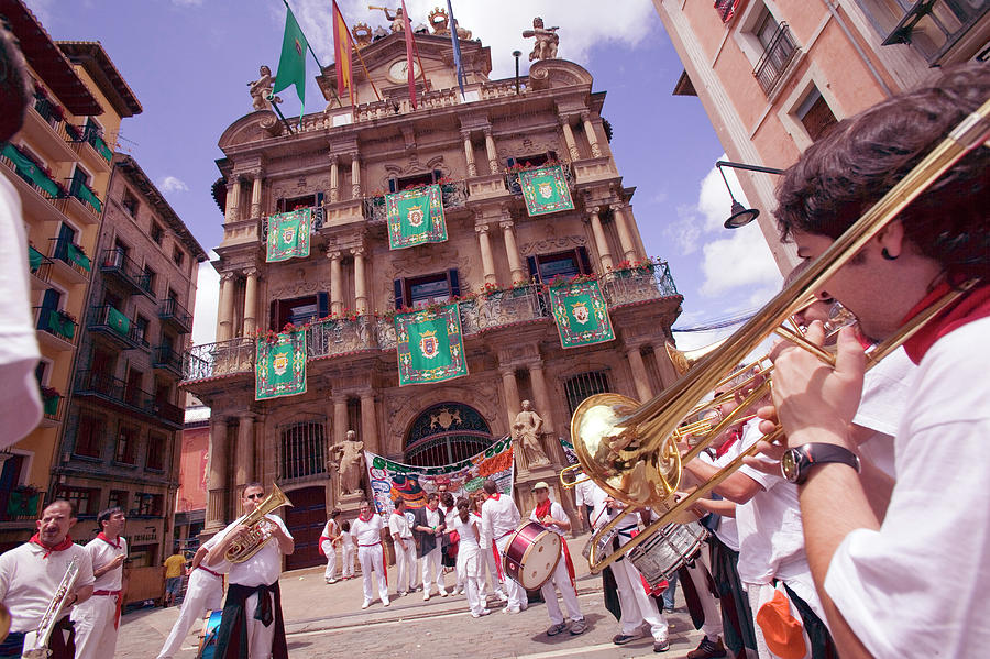 San Fermin Festival Photograph - 793-342 by Robert Harding Picture Library