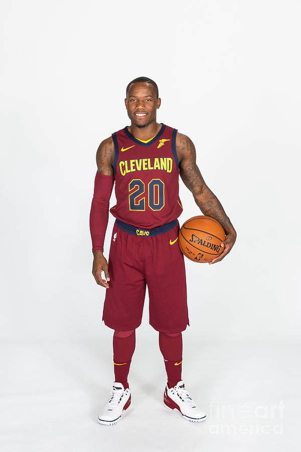 2017-18 Cleveland Cavaliers Media Day Photograph by Michael J. Lebrecht Ii
