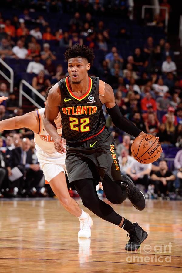 Atlanta Hawks V Phoenix Suns Photograph by Barry Gossage