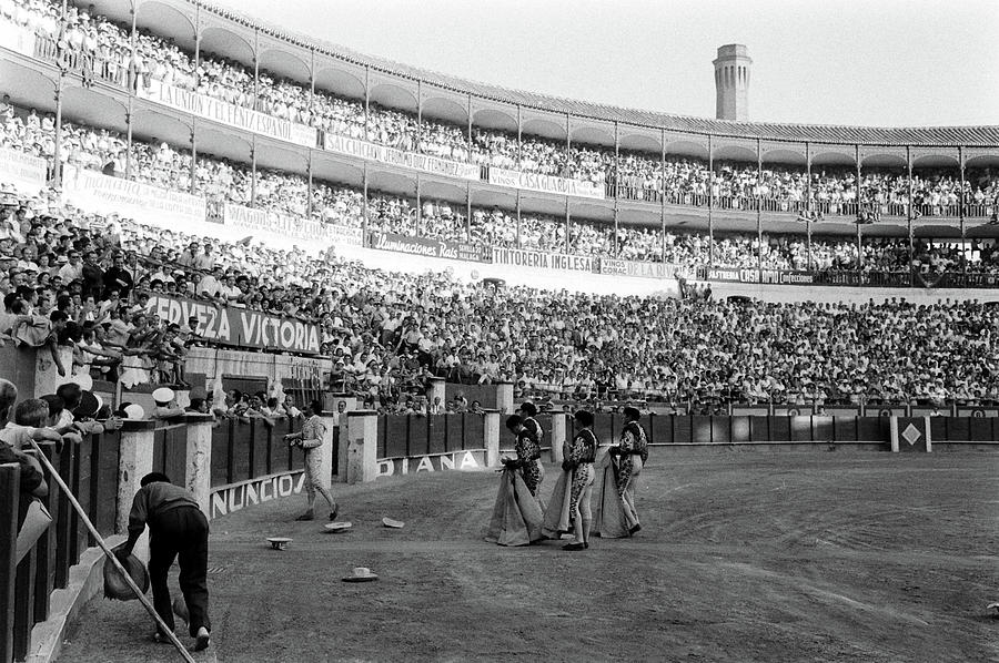 Bullfighting In Spain Photograph by James Burke