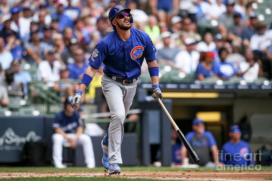 Chicago Cubs V Milwaukee Brewers 8 Photograph by Dylan Buell