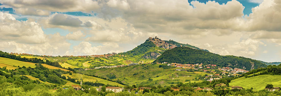 countryside of Romagna in Italy by Gone With The Wind
