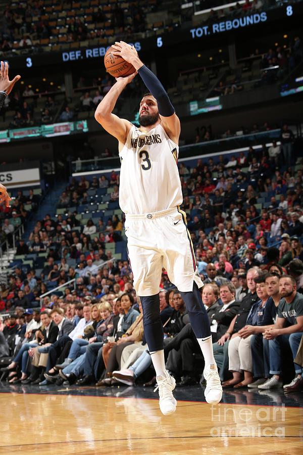 Dallas Mavericks V New Orleans Pelicans Photograph by Layne Murdoch