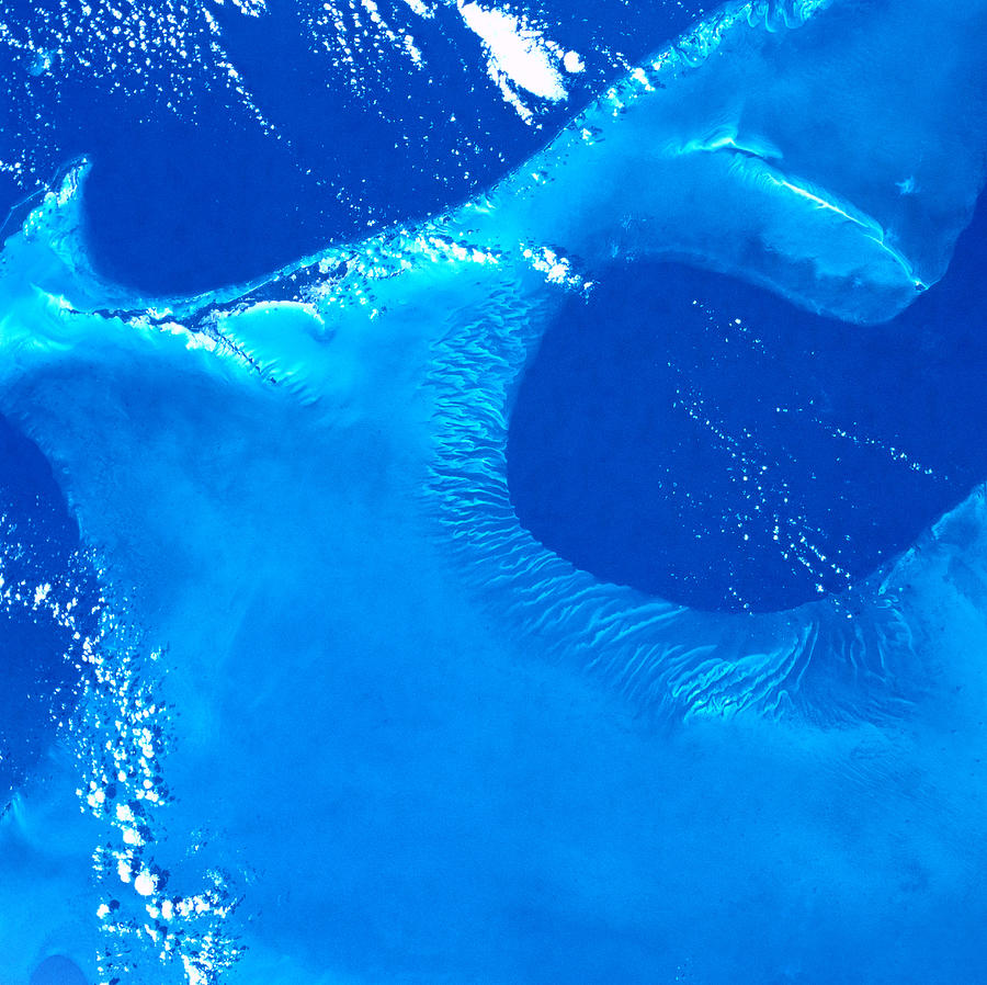 Earth Viewed From A Satellite Photograph by Stockbyte