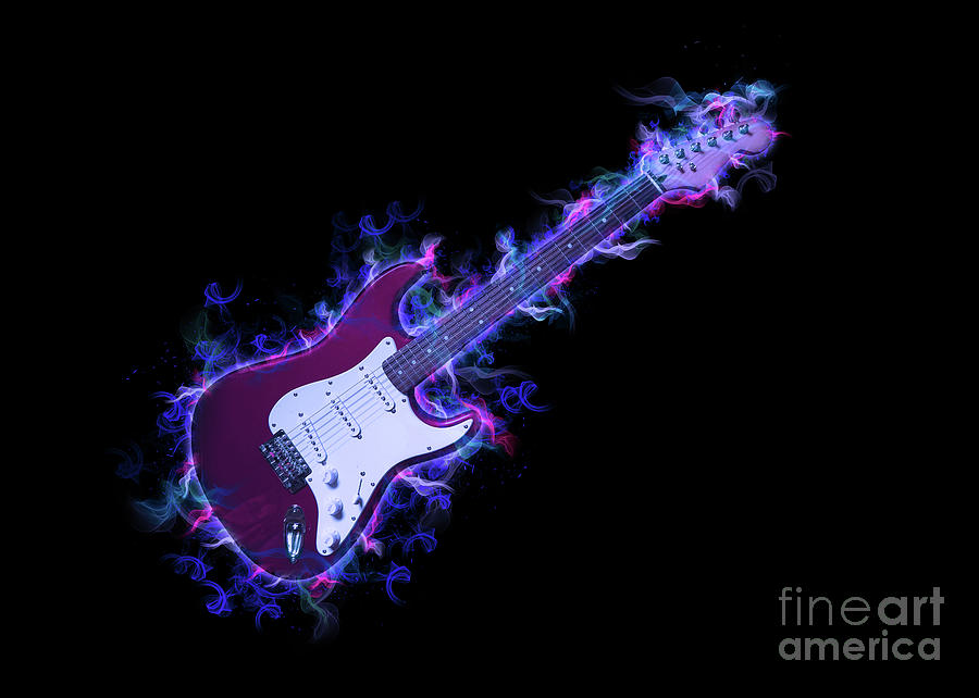 Electric Guitar by Ian Mitchell