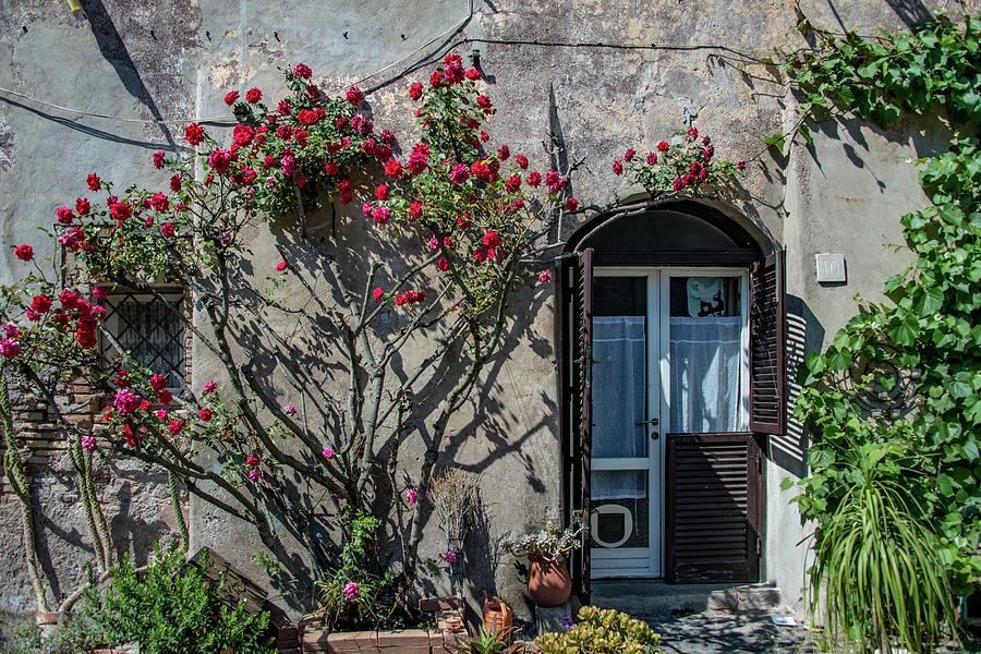 Italia Photograph - Entrance by Joseph Yarbrough