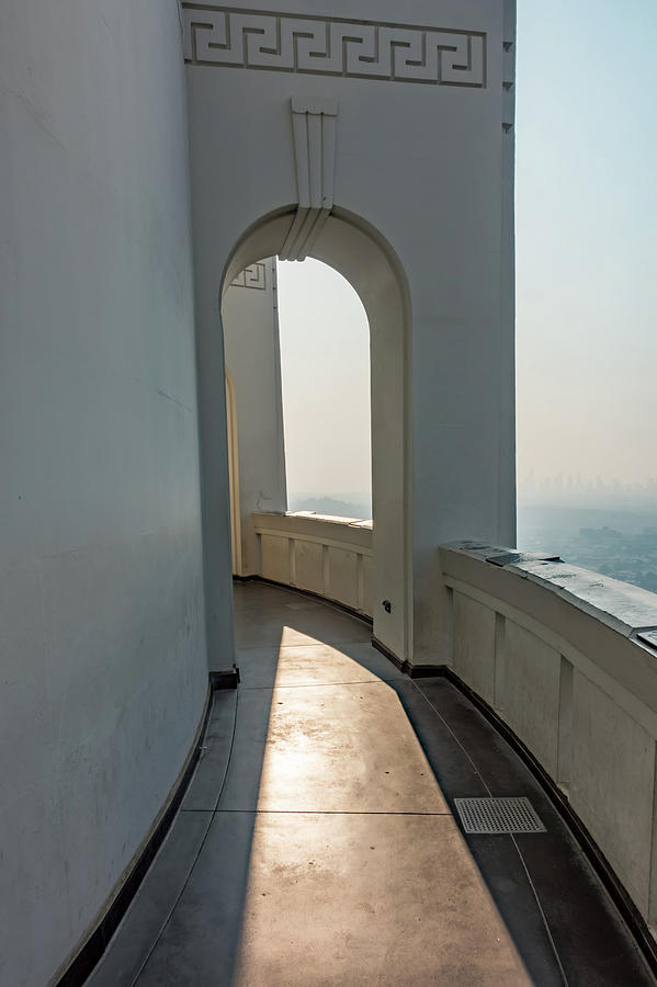 Famous Griffith observatory in Los Angeles california by ALEX GRICHENKO