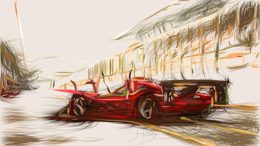 Ferrari 333 Sp Draw