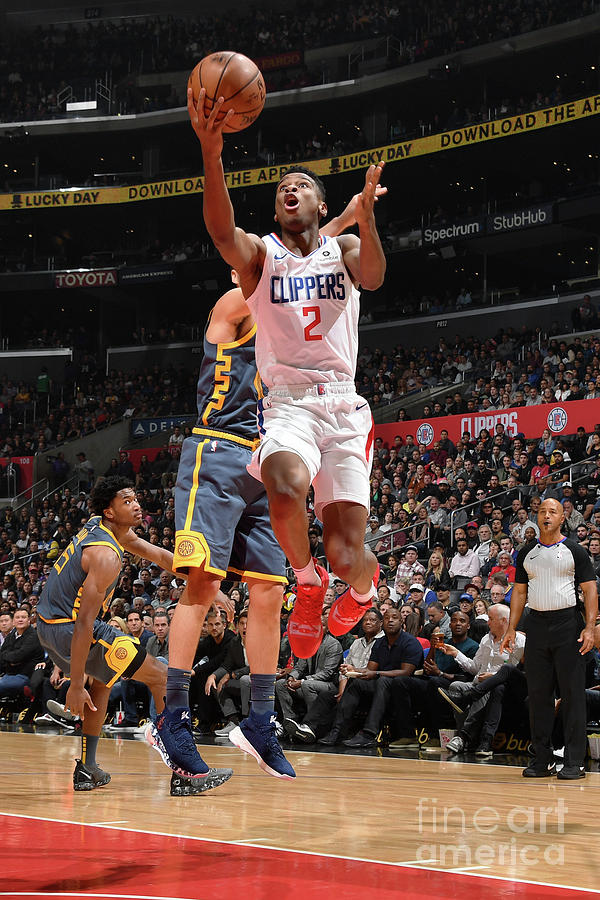 Golden State Warriors V La Clippers Photograph by Andrew D. Bernstein