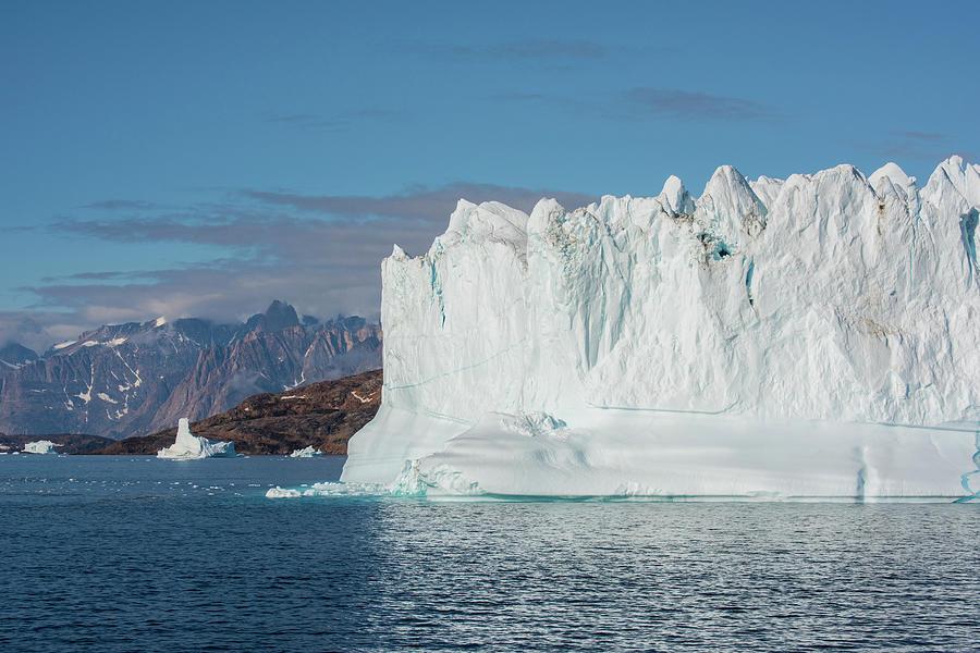 Arctic Photograph - Greenland, Scoresbysund, Aka Scoresby by Cindy Miller Hopkins