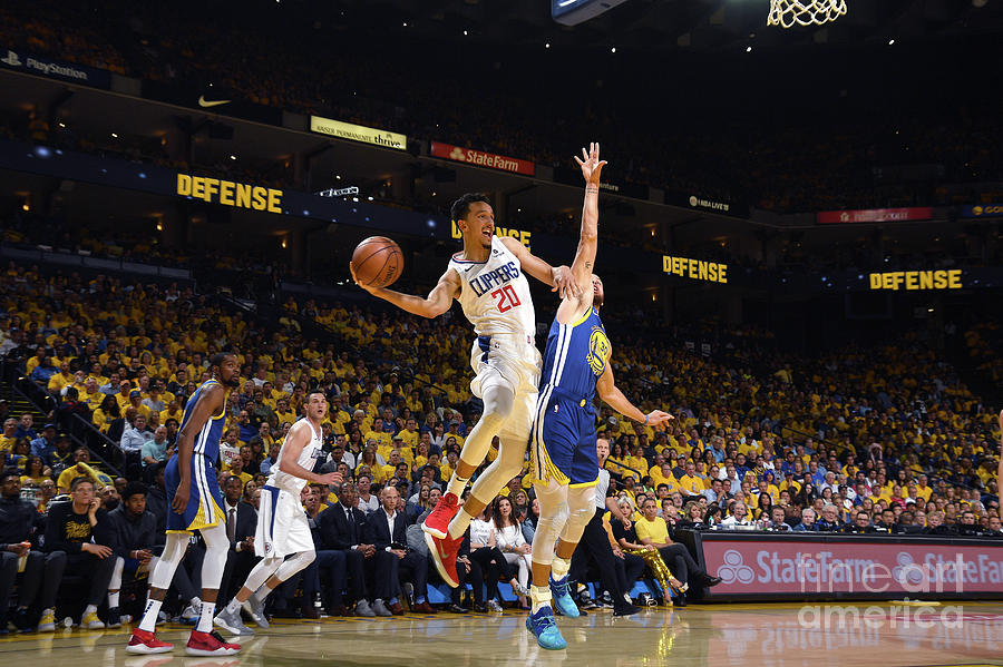 La Clippers V Golden State Warriors - Photograph by Noah Graham