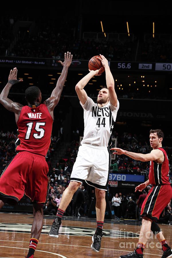 Miami Heat V Brooklyn Nets Photograph by Nathaniel S. Butler