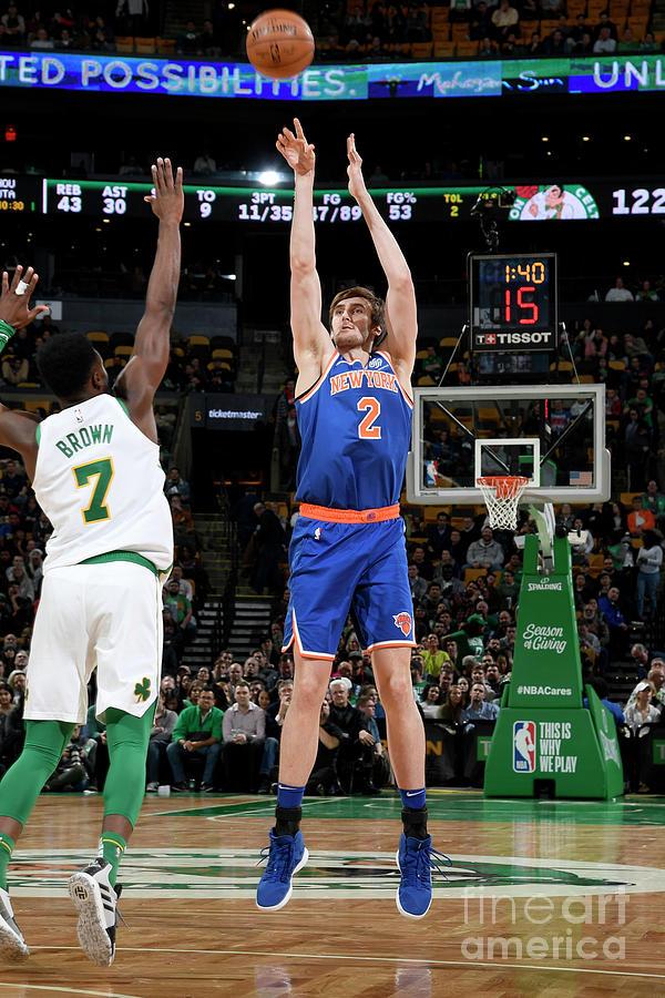 New York Knicks V Boston Celtics Photograph by Brian Babineau
