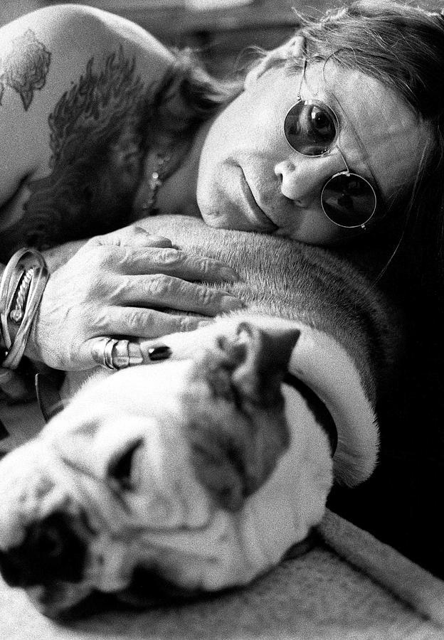 Ozzy Osbourne Photograph by Martyn Goodacre