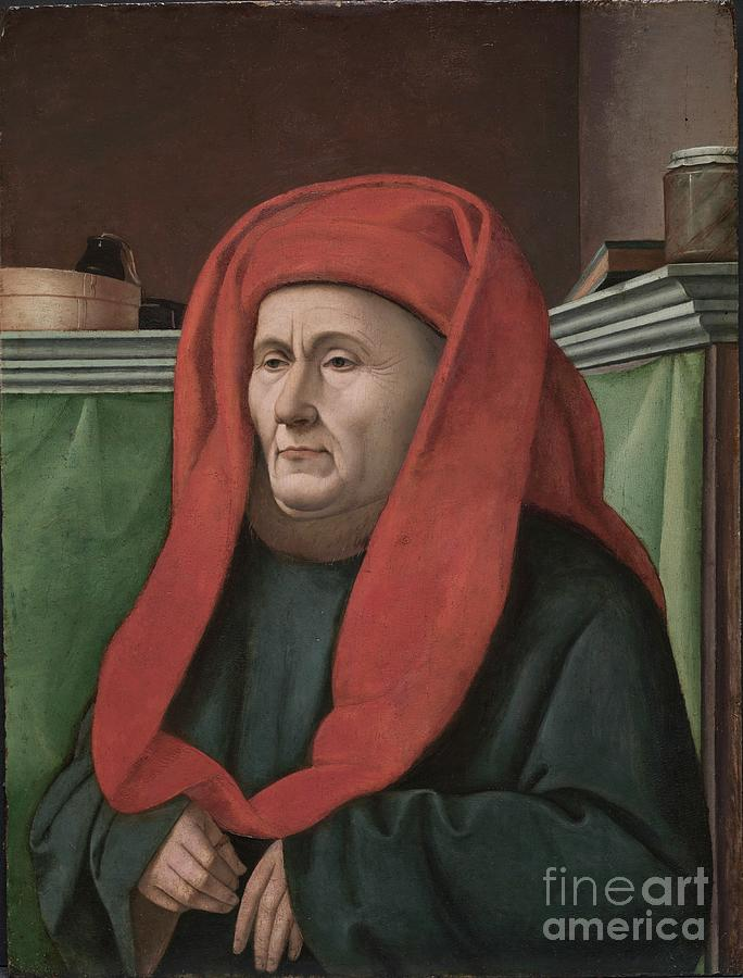 Portrait Of A Man Drawing by Heritage Images