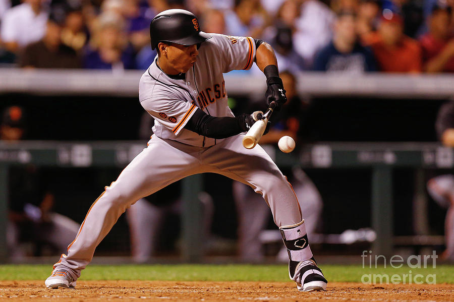 San Francisco Giants V Colorado Rockies Photograph by Justin Edmonds