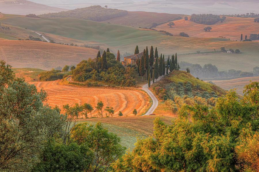 Siena Photograph - San Quirico, Tuscany - Italy by Joana Kruse