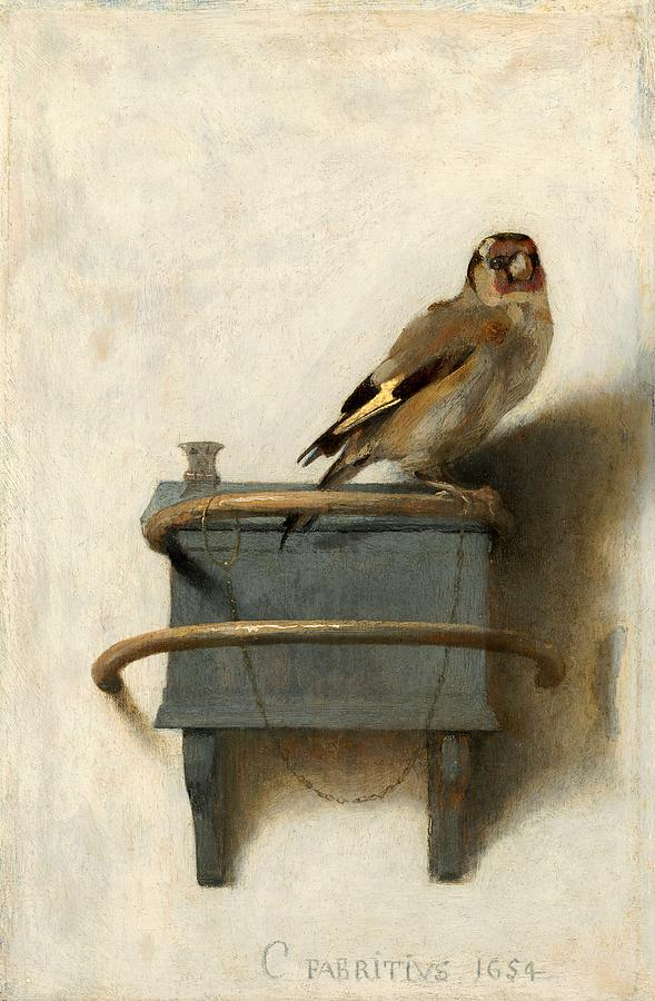The Goldfinch Painting