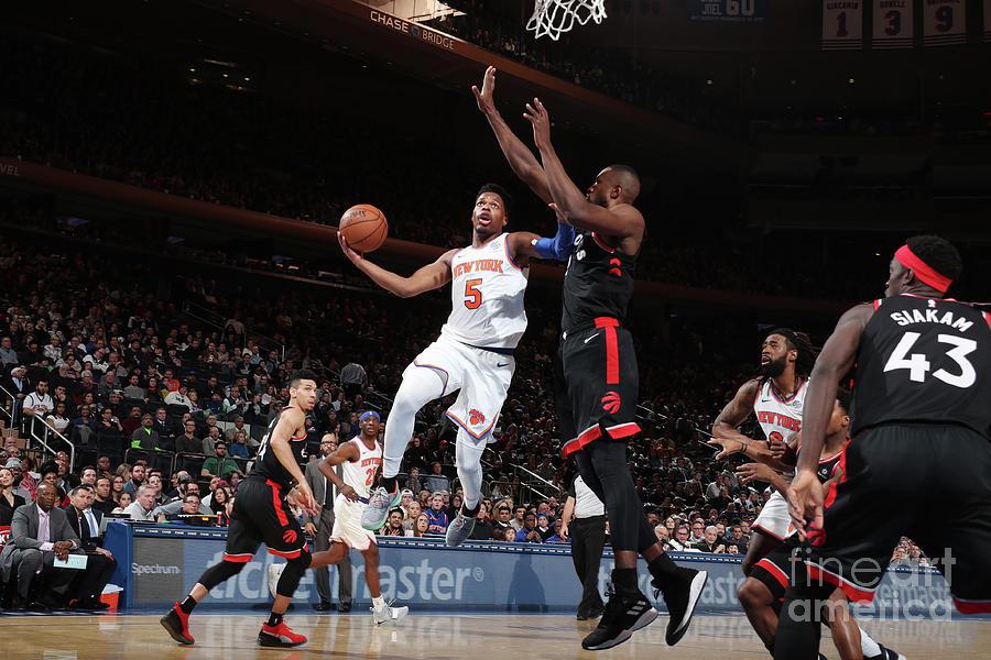Toronto Raptors V New York Knicks Photograph by Nathaniel S. Butler