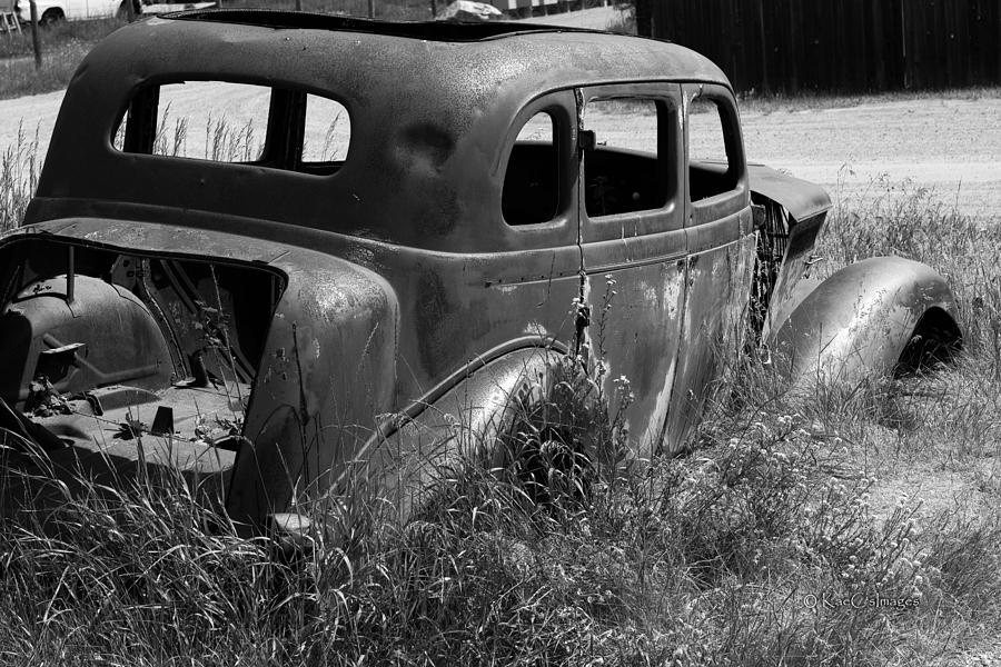 80 Year Old Remnant Car by Kae Cheatham