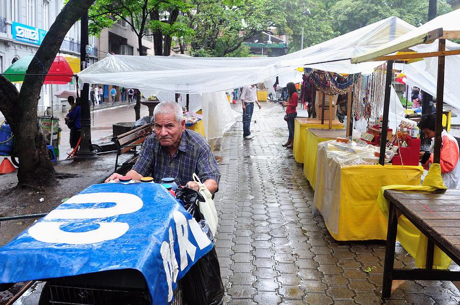 Men Photograph - Medellin - Colombia by Carlos Mora