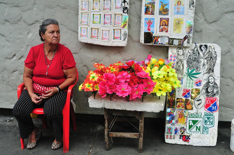 Football Photograph - Medellin - Colombia by Carlos Mora