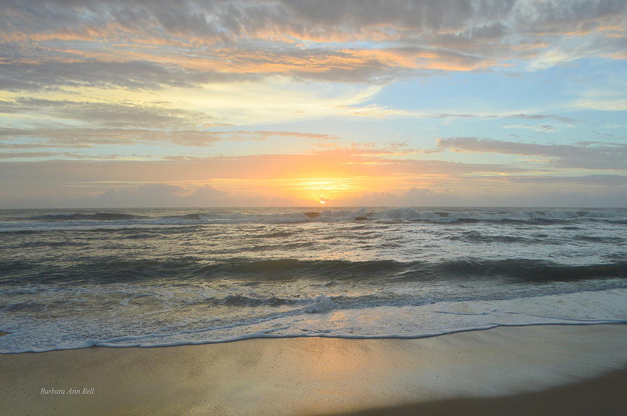 9/17/18 OBX Sunrise  by Barbara Ann Bell