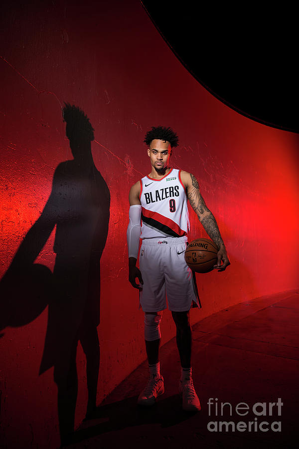 2018-2019 Portland Trail Blazers Media Photograph by Sam Forencich