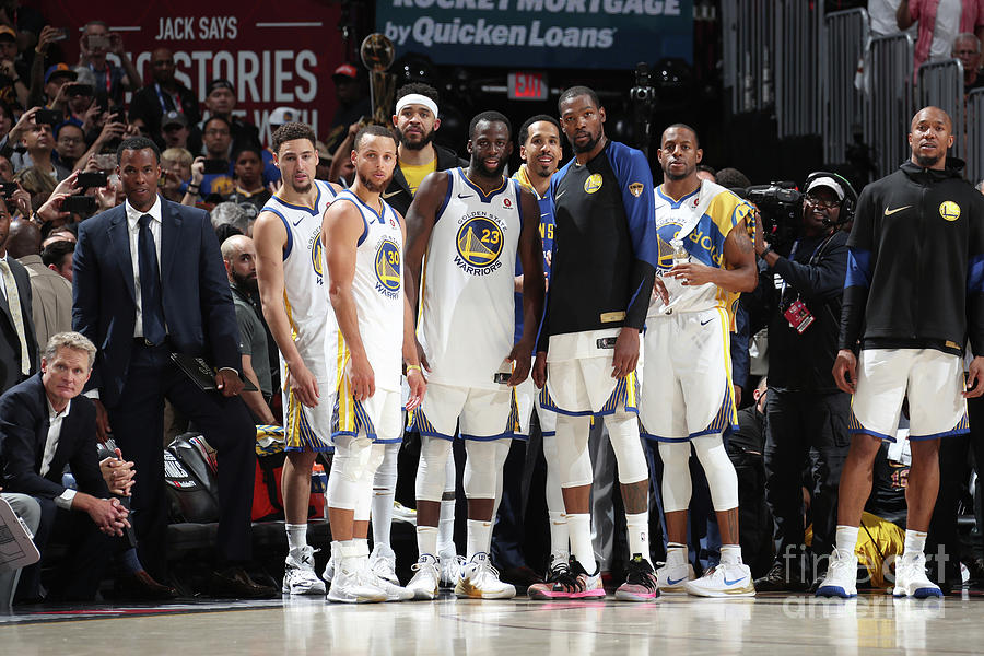 2018 Nba Finals - Game Four Photograph by Nathaniel S. Butler