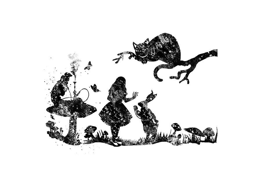 Alice In Wonderland Painting By Rosalis Art