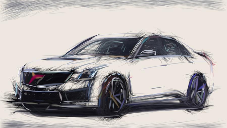 Cadillac CTS V Sedan iphone case