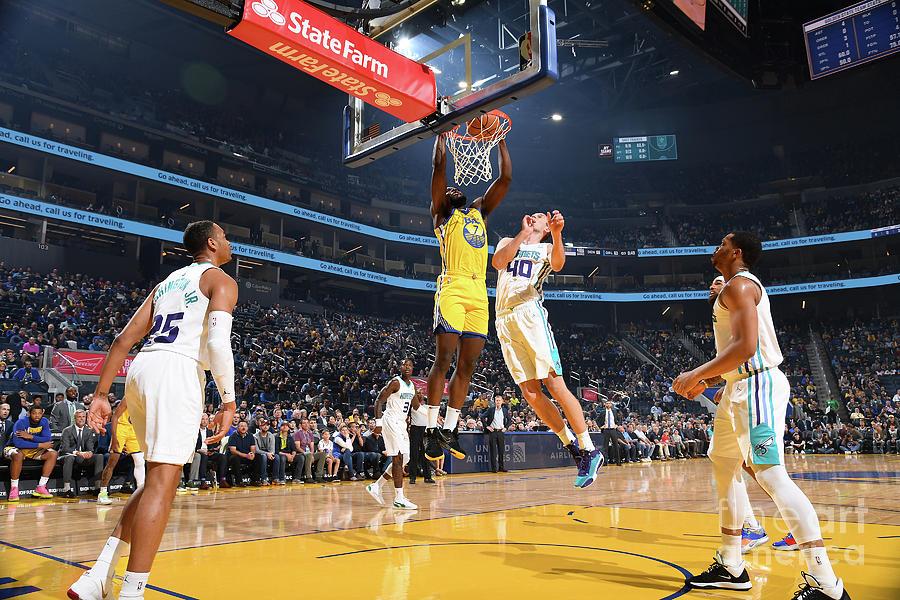 Charlotte Hornets V Golden State Photograph by Noah Graham
