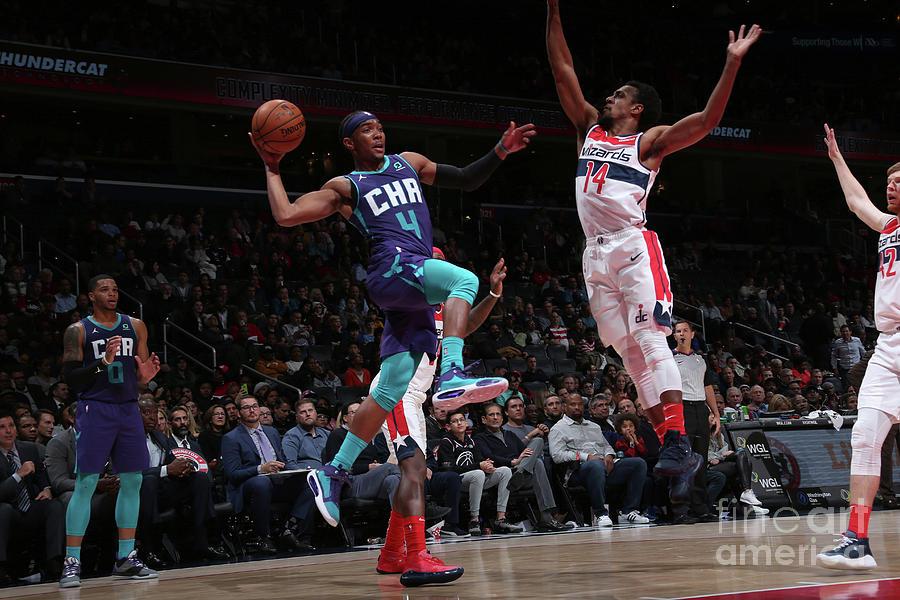 Charlotte Hornets V Washington Wizards Photograph by Ned Dishman