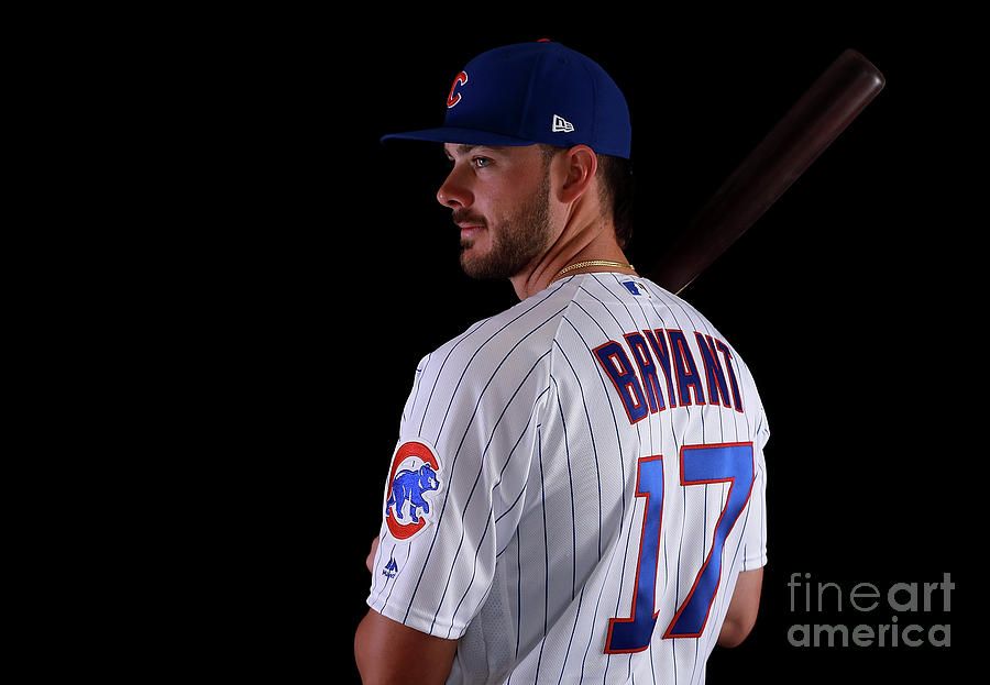 Chicago Cubs Photo Day Photograph by Gregory Shamus