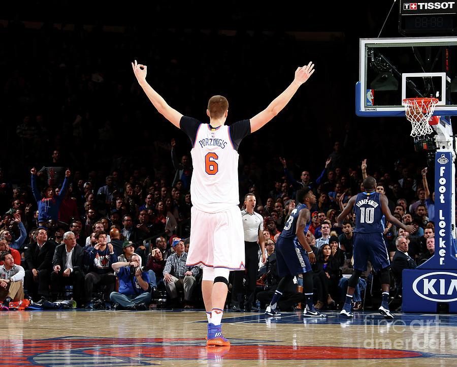 Dallas Mavericks V New York Knicks Photograph by Nathaniel S. Butler